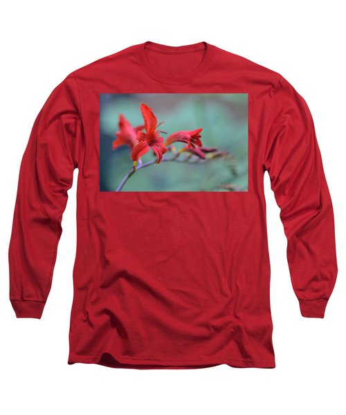 Scarlet Blooms Long Sleeve T-Shirt