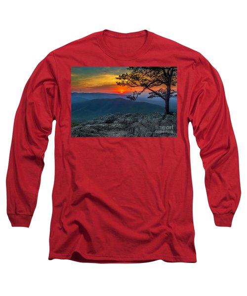 Scarlet Sky At Ravens Roost Long Sleeve T-Shirt