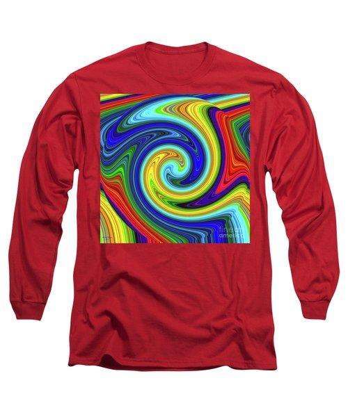 Sea Of Colors Long Sleeve T-Shirt