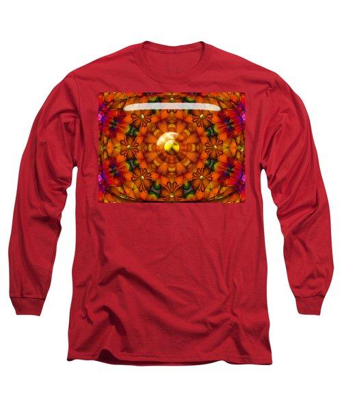 Long Sleeve T-Shirt featuring the digital art Seasons by Robert Orinski