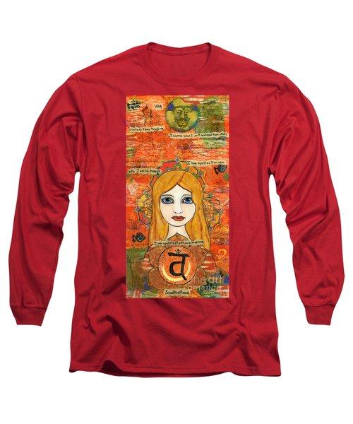 Second Chakra Long Sleeve T-Shirt