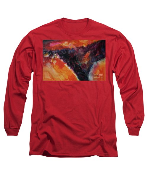 Long Sleeve T-Shirt featuring the painting Secret Hideaway by Kathy Braud