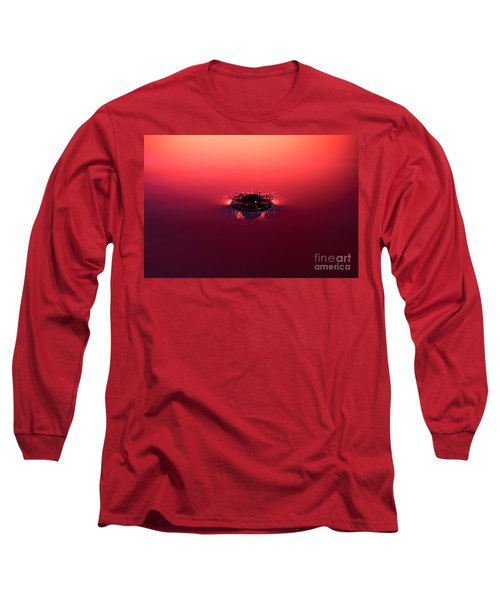 Semi Submerged Droplet Long Sleeve T-Shirt
