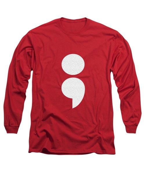 Semicolon 011 Long Sleeve T-Shirt