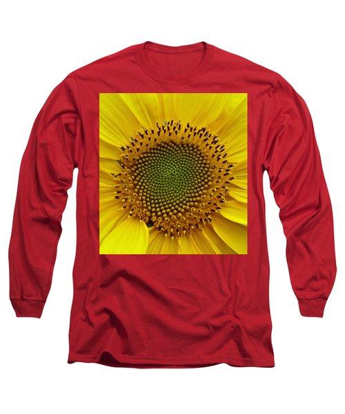 Long Sleeve T-Shirt featuring the photograph September Sunflower by Richard Cummings