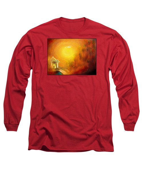 Serenity Long Sleeve T-Shirt by Michael Cleere