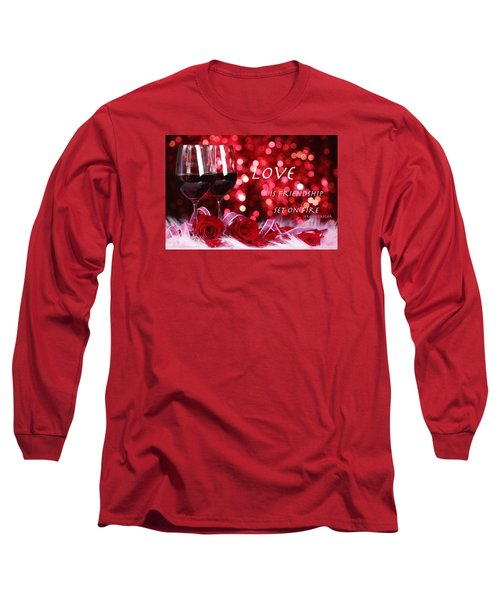 Long Sleeve T-Shirt featuring the photograph Set On Fire by David Norman