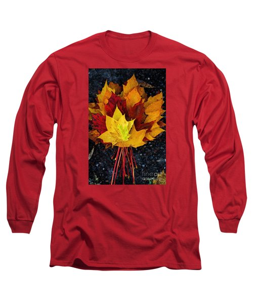 Long Sleeve T-Shirt featuring the photograph Shade Of Autumn  by Gary Bridger