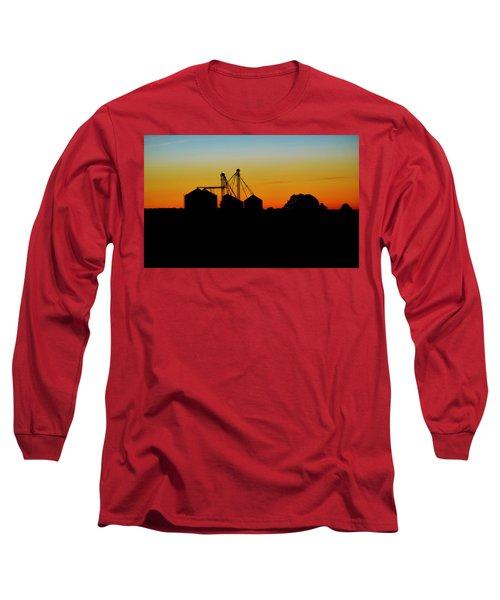 Shadow Farm Long Sleeve T-Shirt by William Bartholomew