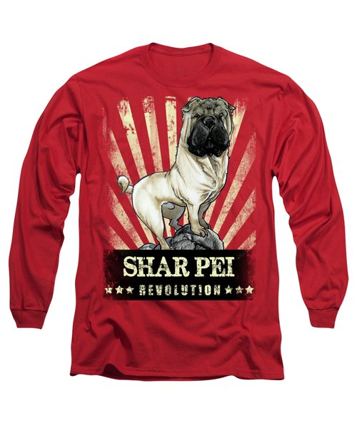 Shar Pei Revolution Long Sleeve T-Shirt