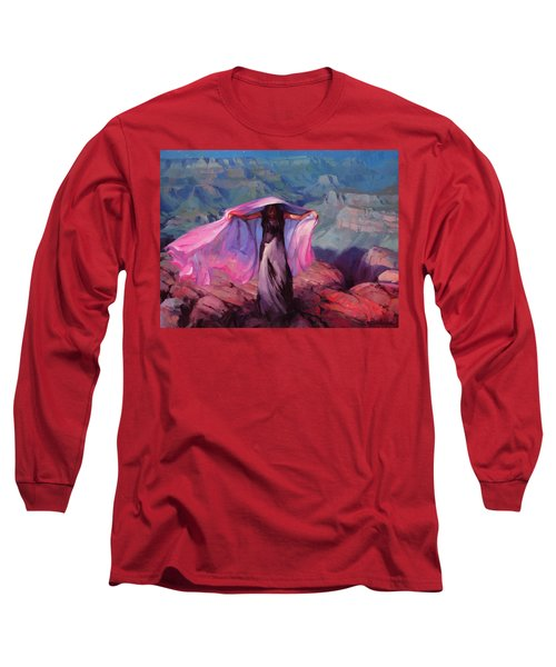 She Danced By The Light Of The Moon Long Sleeve T-Shirt