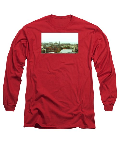 Long Sleeve T-Shirt featuring the photograph Sheffield Skyline by Anne Kotan