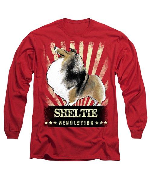 Sheltie Revolution Long Sleeve T-Shirt