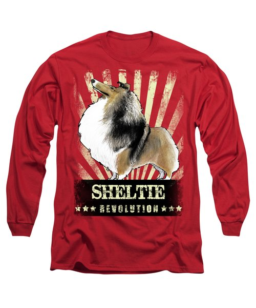 Sheltie Revolution Long Sleeve T-Shirt