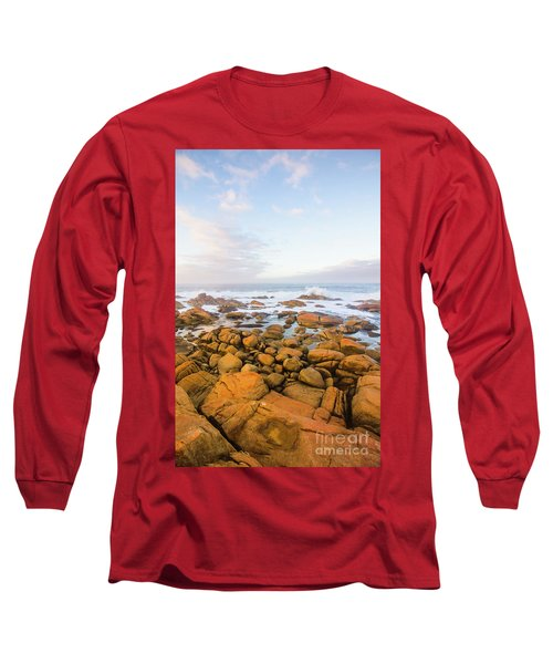 Shore Calm Morning Long Sleeve T-Shirt