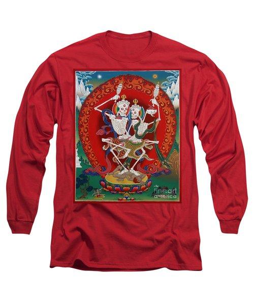 Shri Chittipati - Chokling Tersar Long Sleeve T-Shirt