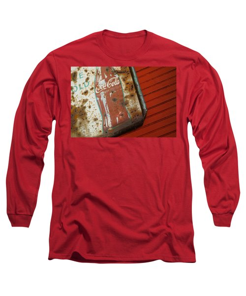 Sign Of The Times Long Sleeve T-Shirt by Michael McGowan