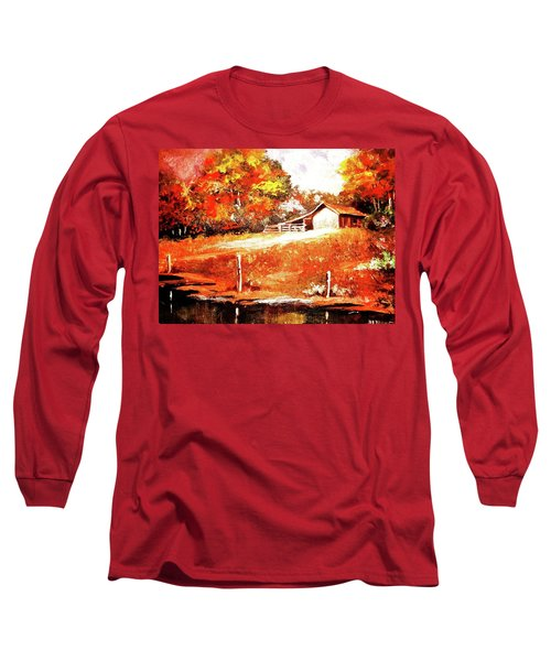 Signs Of Autumn Long Sleeve T-Shirt