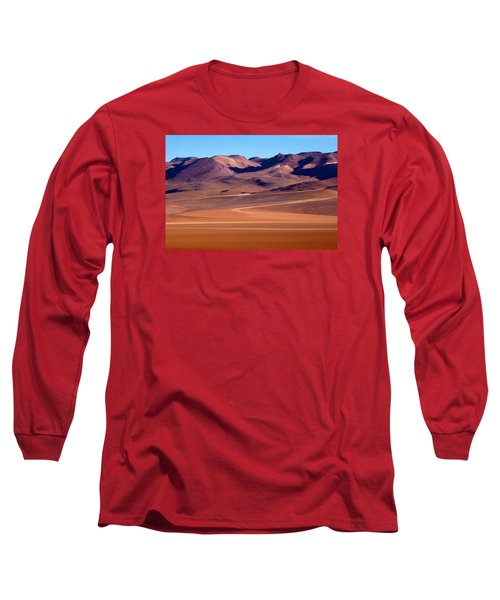 Siloli Desert Long Sleeve T-Shirt by Aivar Mikko