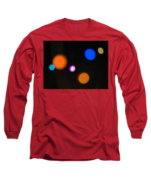 Simple Circles Long Sleeve T-Shirt by Susan Stone