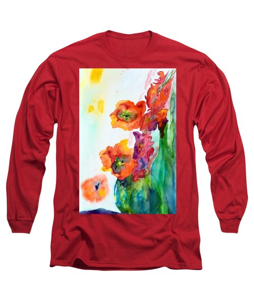Sing Out Long Sleeve T-Shirt by Beverley Harper Tinsley