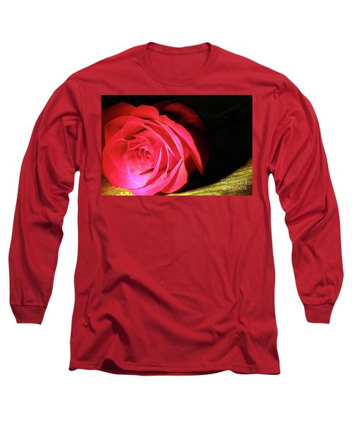 Single Rose  Long Sleeve T-Shirt
