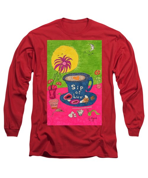 Sip Of Luv Long Sleeve T-Shirt