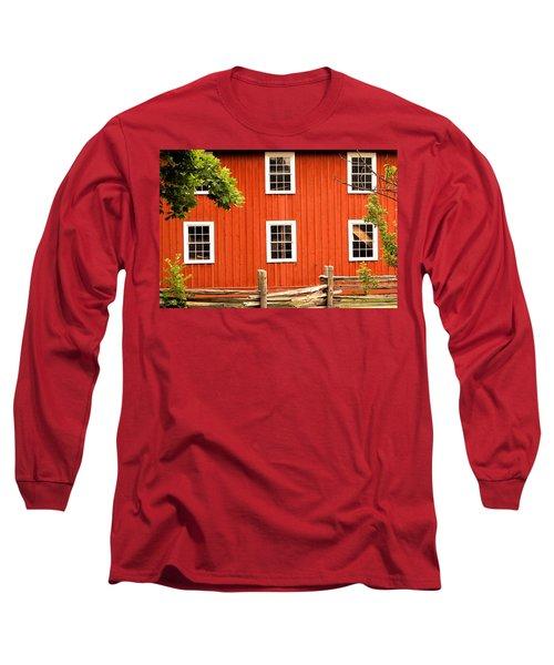 Six Windows Long Sleeve T-Shirt by Ian  MacDonald