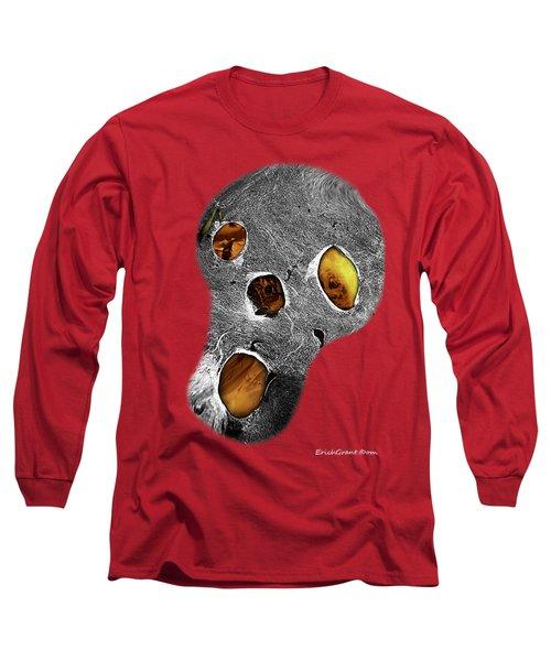 Skull Burn Long Sleeve T-Shirt