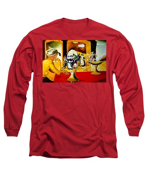 Slave Market With The Invisible Bust Of Voltaire Long Sleeve T-Shirt