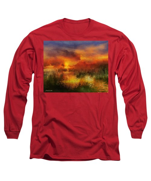 Sleeping Nature II Long Sleeve T-Shirt