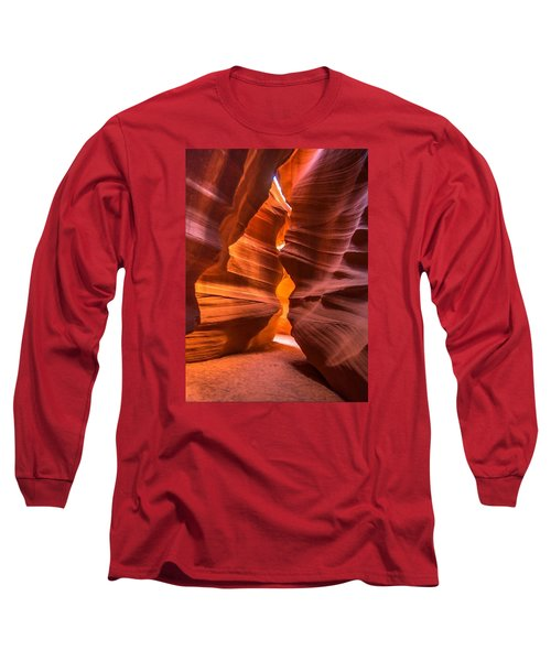 Long Sleeve T-Shirt featuring the photograph Slot Canyon by Jerry Cahill