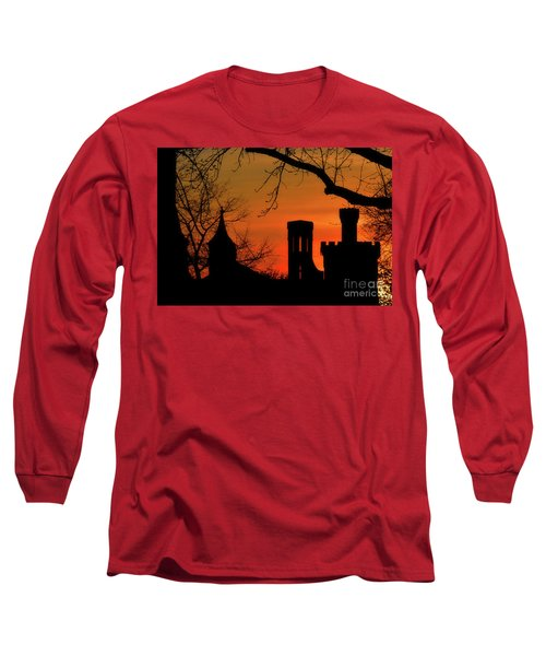 Smithsonian Castle Long Sleeve T-Shirt by Luv Photography