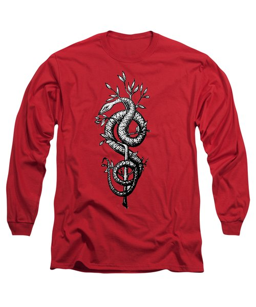 Snake Of Wisdom Long Sleeve T-Shirt