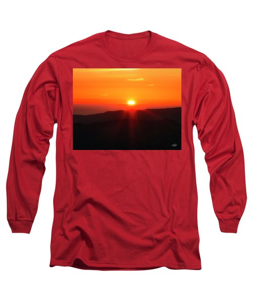 Snow Camp View 2 Long Sleeve T-Shirt by Leland D Howard