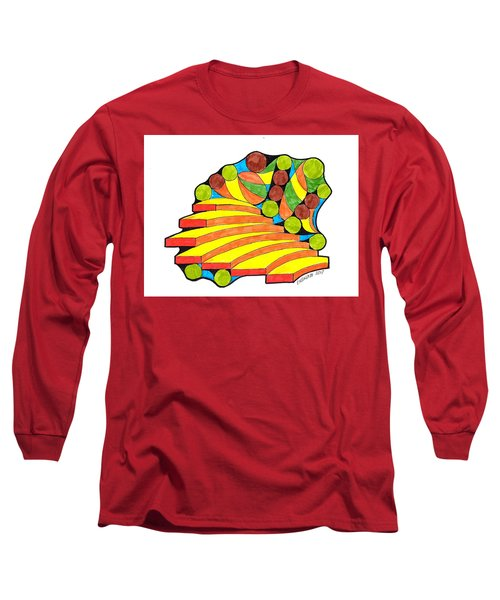 Snow Day 1 Long Sleeve T-Shirt by Paul Meinerth