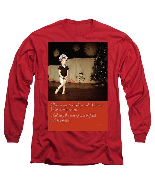 Snowflake Dancer Long Sleeve T-Shirt