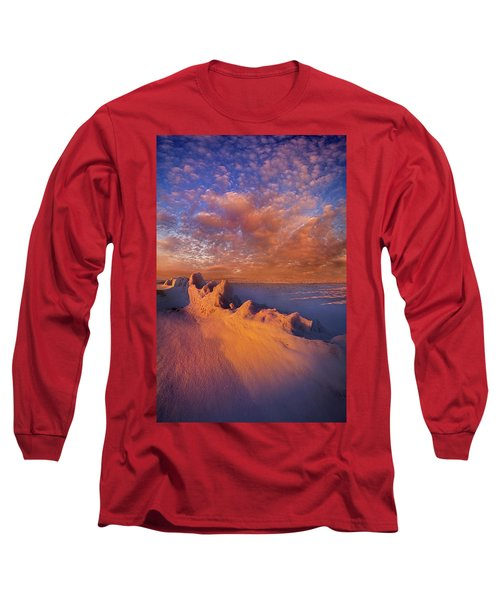 Long Sleeve T-Shirt featuring the photograph So It Begins by Phil Koch