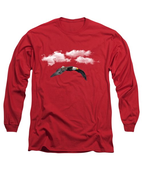 Soaring Among The Clouds Long Sleeve T-Shirt