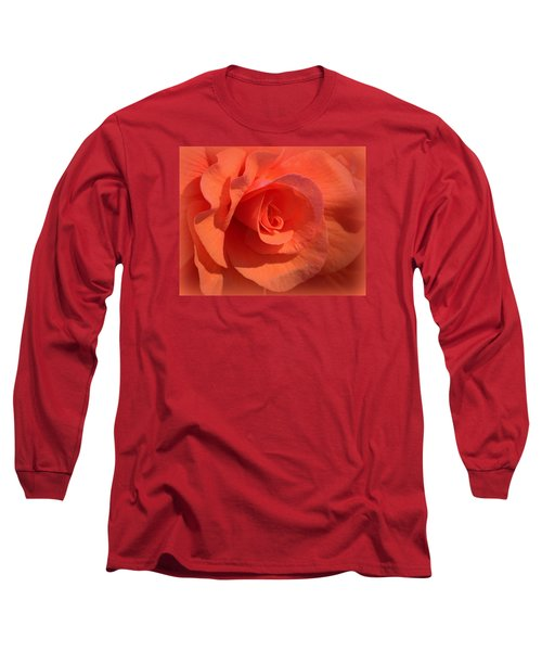 Soft Begonia Long Sleeve T-Shirt