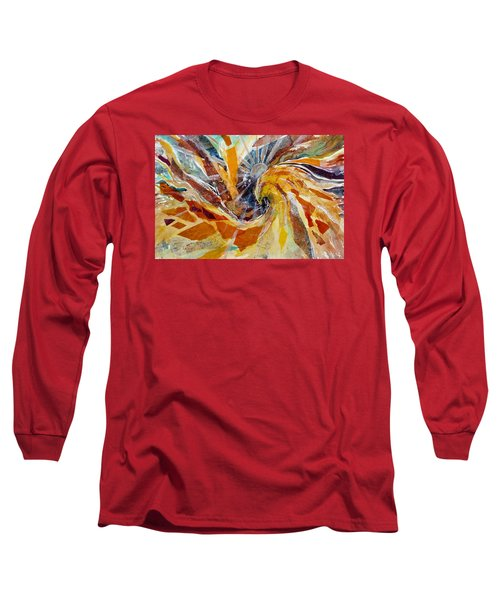 Solar Chakra Meditation Long Sleeve T-Shirt
