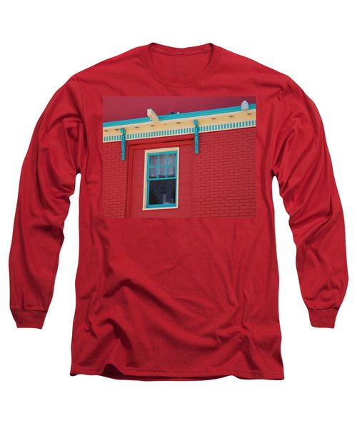 Long Sleeve T-Shirt featuring the photograph Solitary Window by Richard Bryce and Family
