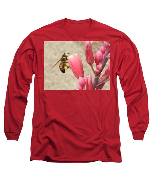 Something To Buzz About Long Sleeve T-Shirt by Russell Keating