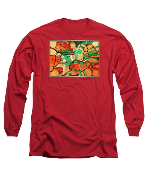 ' Somewhere In Mexico' Long Sleeve T-Shirt