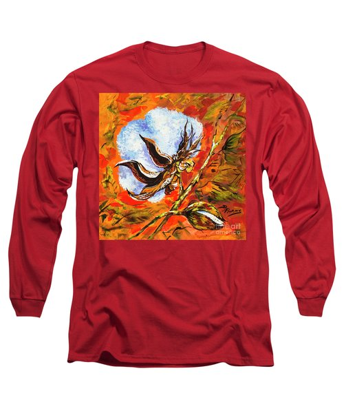 Southern Snow Long Sleeve T-Shirt by Dianne Parks