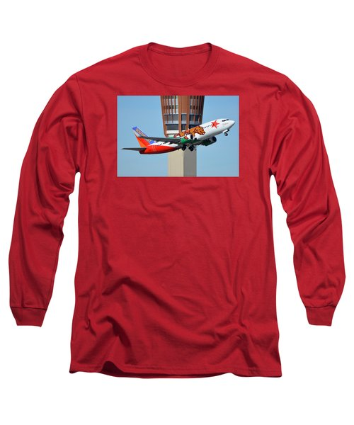 Southwest Boeing 737-3h4 N609sw California One Phoenix Sky Harbor January 21 2016 Long Sleeve T-Shirt