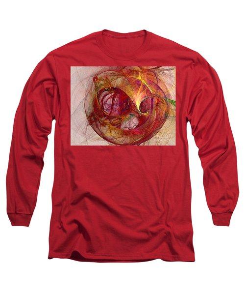 Space Demand Abstract Art Long Sleeve T-Shirt