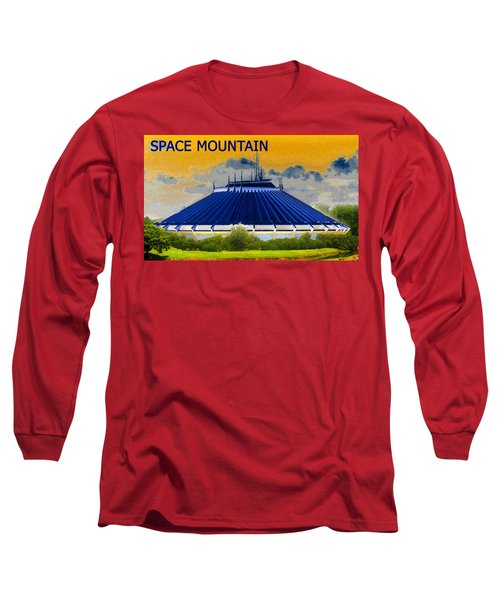 Space Mountain Long Sleeve T-Shirt