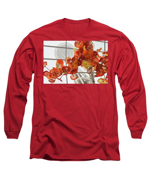 Space Needle And Chihuly Long Sleeve T-Shirt