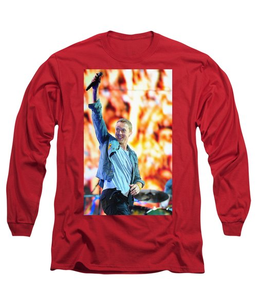 Coldplay4 Long Sleeve T-Shirt by Rafa Rivas
